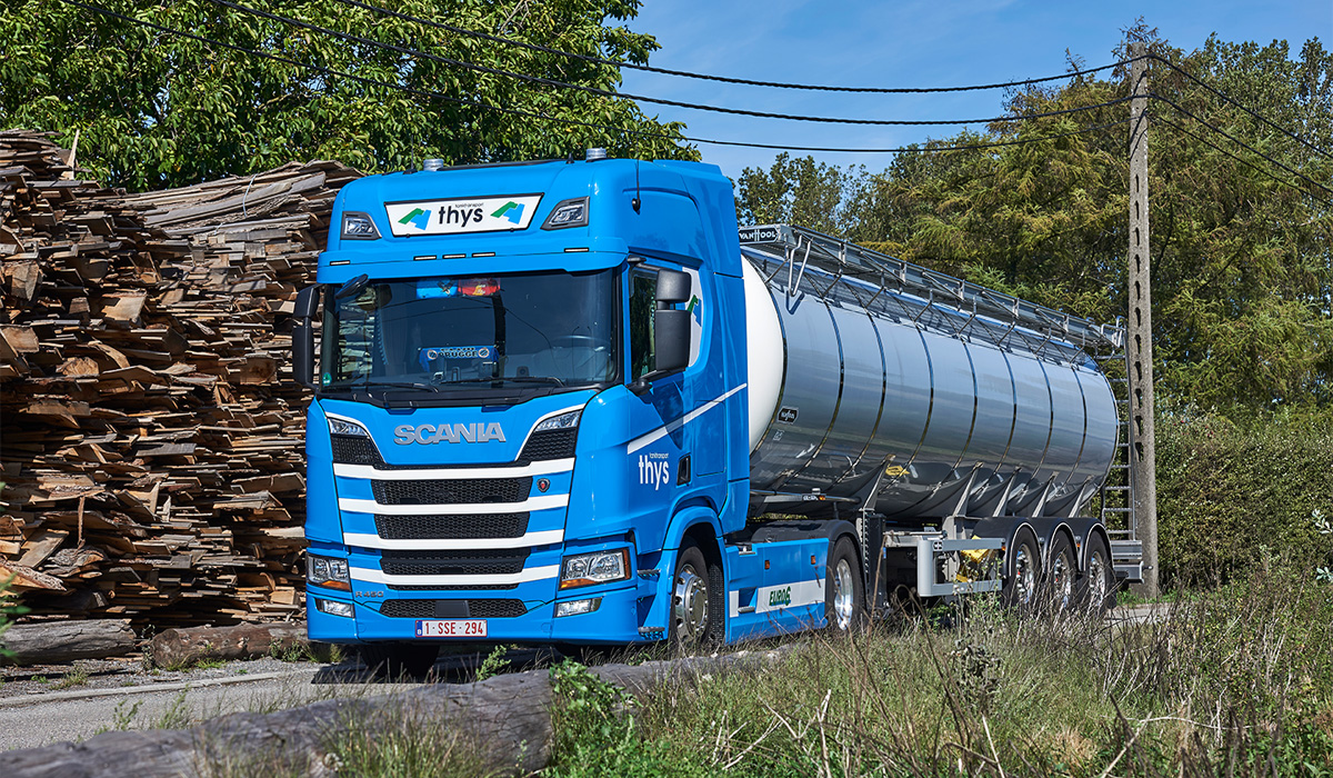 Chauffeur International Transport Tanktransport Thys